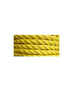 ROPE POLYPRO MONO 3/8X600 YELLOW SELL BY SPOOL ONLY