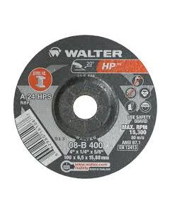 DCW 4-1/2 x 1/4 x 5/8 HP 08B400 Type 27 Walter
