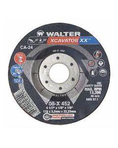 DCW 4-1/2 x 1/8 x 7/8 XCAVATOR XX 08X452 Type 1 Walter