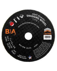 CUT-OFF WHEEL Small Diameter 3 x 1/2 x 3/8 TA36T 61393 BULLARD