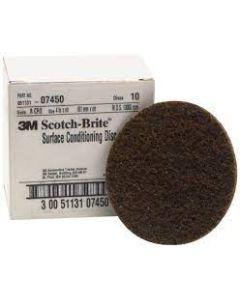 """DISC 4"""" SCOTCH BRITE 3M COARSE 07450"""
