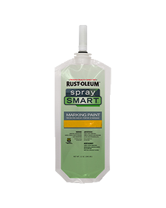 SpraySmart® Paint Pouches Caution Yellow
