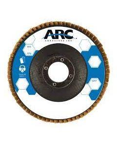 """Flap Disc 4-1/2""""x 7/8 80 grit 1067256 Arc"""