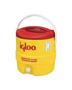 Beverage Cooler, 3 gal., Yellow
