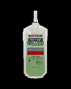 SpraySmart® Paint Pouches Safety Red