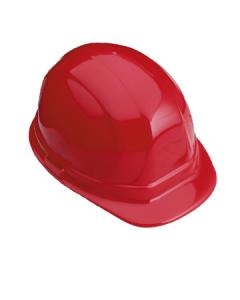 standard hard hat 632 red w/ratchet suspension