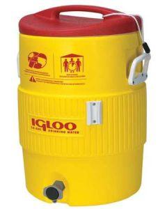 Beverage Cooler, 5 gal., Yellow